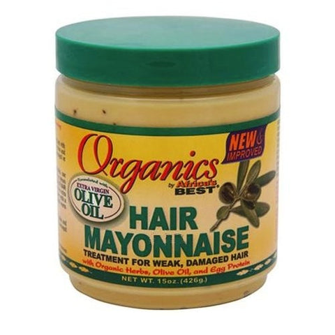 Africa's best organics hair mayonnaise treatment 15oz