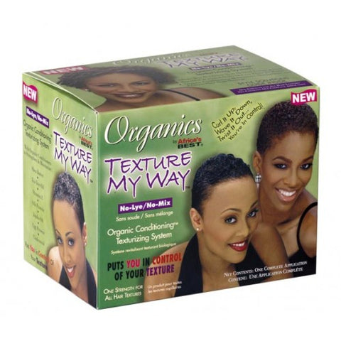 Africa's best organics texture my way no-lye texturizing kit
