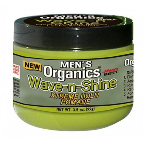 Africa's best mens organics wave & shine hold pomade 3.5oz