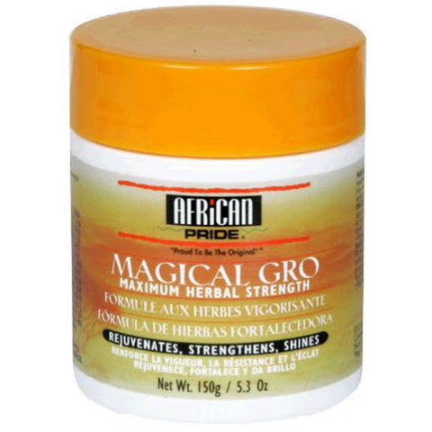 African pride magical gro maximum herbal formula 5.5oz (yellow)