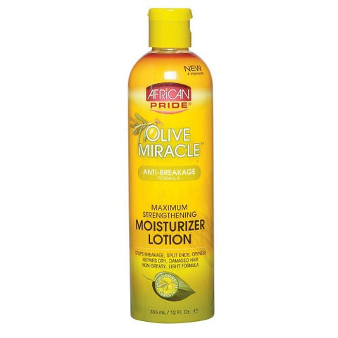 African pride olive miracle moist growth lotion 12oz