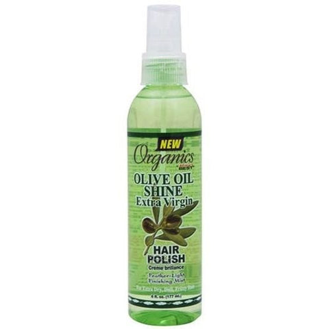Africa's best organics olive oil shine hair polish spray 6oz