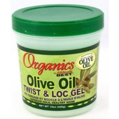 Africa's best organics olive oil twist & loc gel 13oz