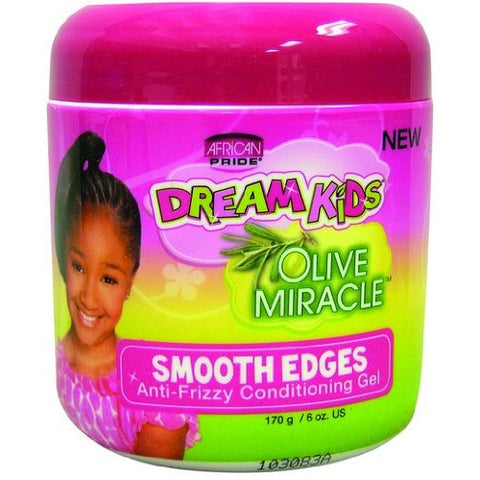 African pride dream kids olive smooth edges gel 6oz