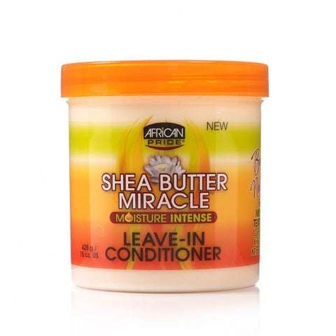 African pride shea butter miracle leave in conditioner 15oz