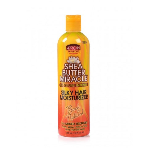 African pride shea butter miracle silky hair moisturizer - 12oz