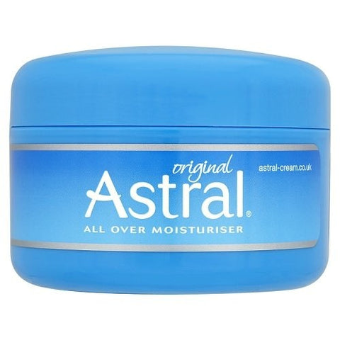Astral moisturiser cream jar