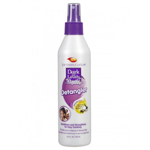 Beautiful beginnings kids ouchless detangler - 8.5oz spray