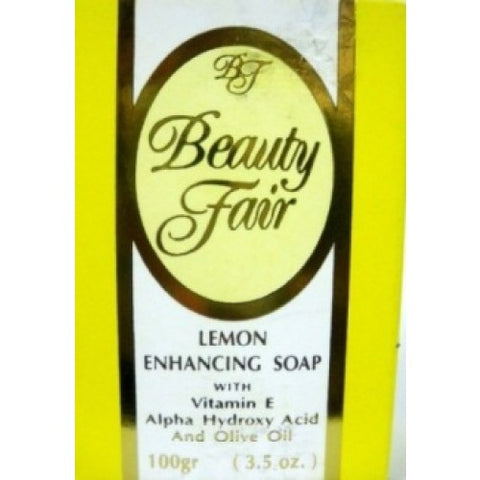 Beauty fair lemon enhancing soap