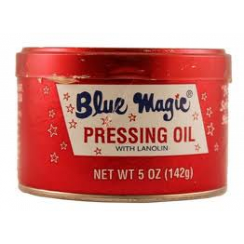 Blue magic pressing oil