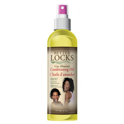 Better locks lite almond conditioning oil 6oz