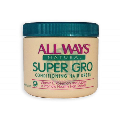 All ways natural super gro regular conditioning hair dress 5.5oz
