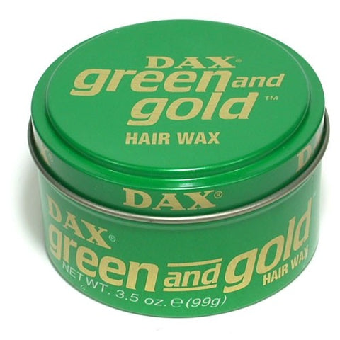 Dax green & gold 3.5oz