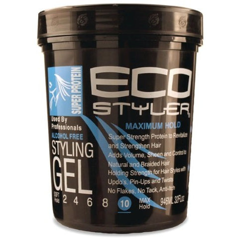 Eco styler styling gel 32 oz. super protein