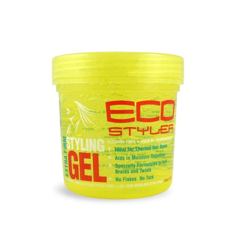 Eco styling gel yellow 16 oz