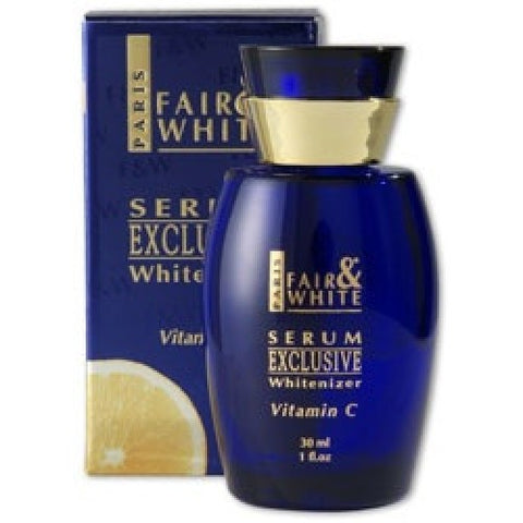 Fair & white exclusive whitenizer serum vitamin c 30ml
