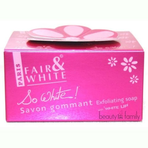 Fair & white so white exfloliating  soap 200g