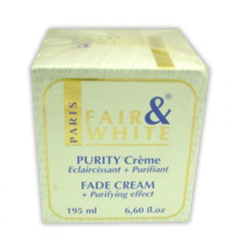 Fair & white amos purity fade cream 195ml