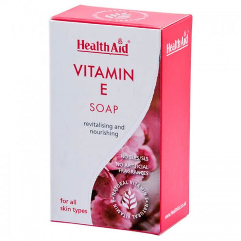Health aid vitamin e soap 100g