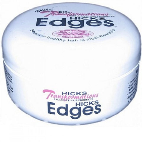Hicks total transformation edges pomade jar 4oz