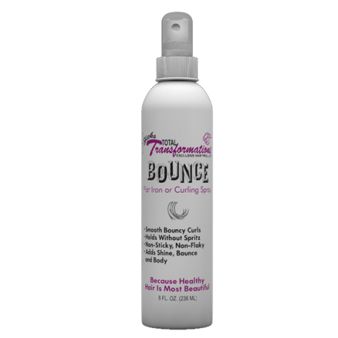 Hicks total transformation bounce curling iron spray 8oz