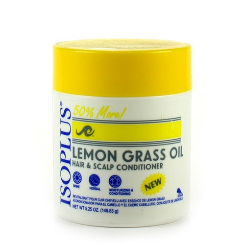 Isoplus lemon grass condi jar 5.25oz