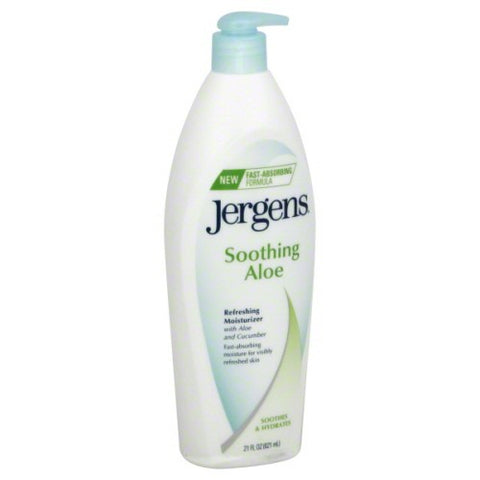 Jergens soothing aloe lotion 21oz