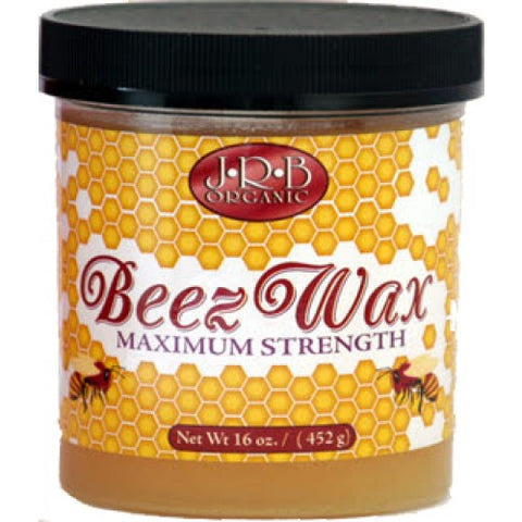 J.r.b organic beez wax maximum strength 16oz