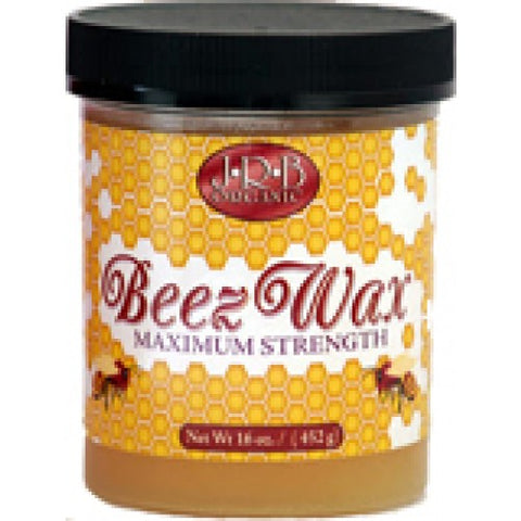 J.r.b organic beez wax maximum strength 8oz