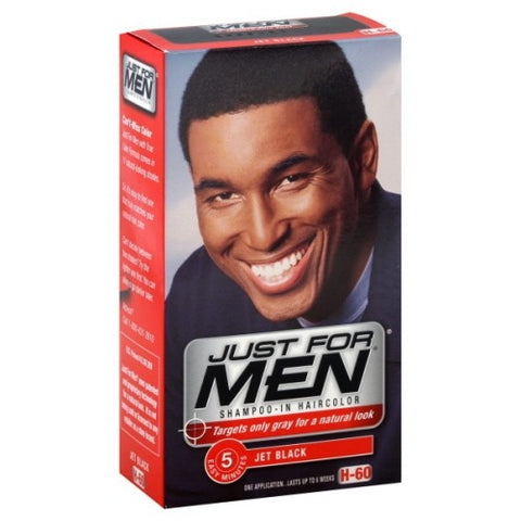 Just for men haircolor jet black