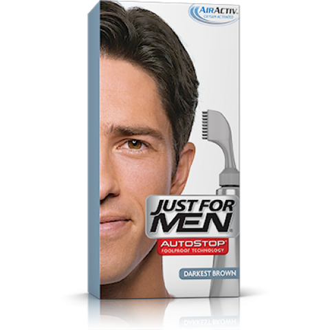Just for men h50 hair color darkest brown