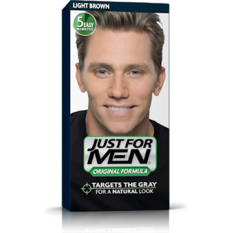 Just for men hair colour original formula light brown h25