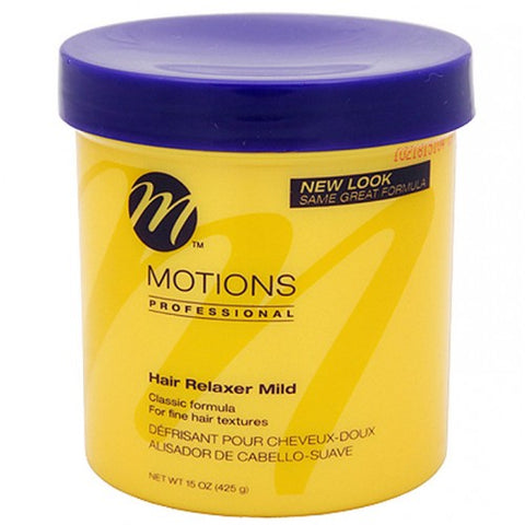 Motions hair relaxer 15oz. mild jar