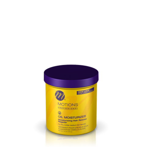 Motions oil moisturizer hair relaxer jar