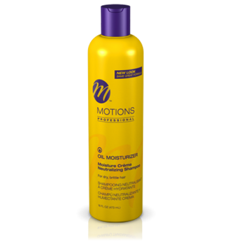 Motions oil moisturizer neutralizing shampoo