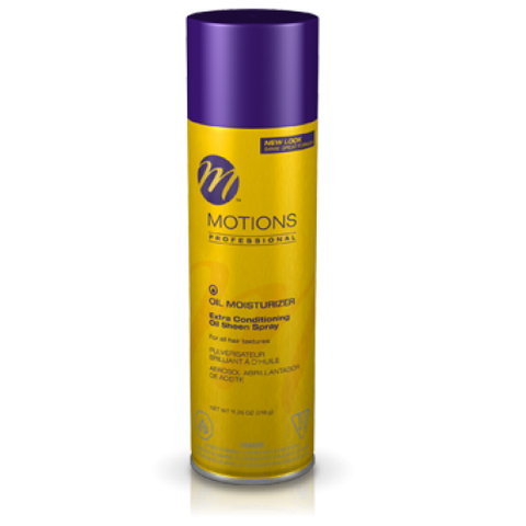 Motions extra conditioning oil sheen spray