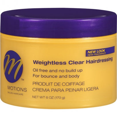Motions weightless clear hairdressing
