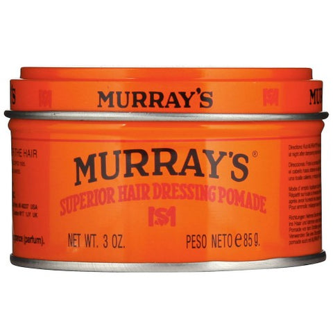 Murray's superior hair dressing pomade 3.5oz
