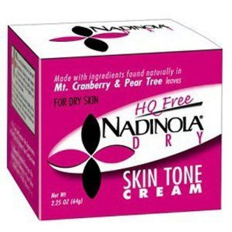 Nadinola skin discoloration fade cream for skin 2.25oz