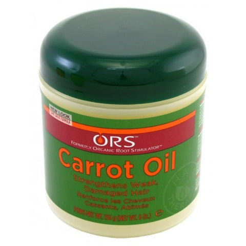 Organic root stimulator carrot oil cream 6oz jar