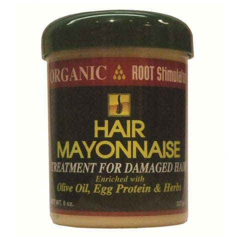 Organic root stimulator hair mayonnaise 8oz jar