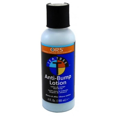 Organic root stimulator anti-bump lotion tea tree 4oz