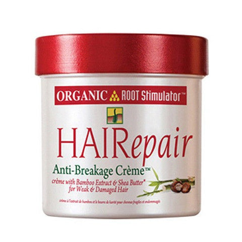 Organic root stimulator h/repair anti breakage cream jar 5oz