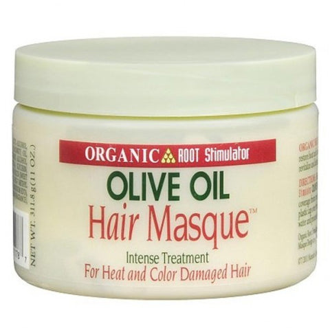 Organic root stimulator olive oil hair masque intense treatment 11oz