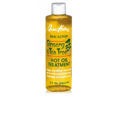 Queen helene ginseng t tree hot oil 8oz