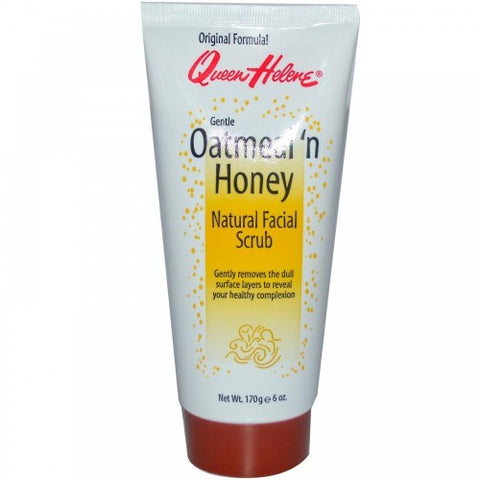 Queen helene oatmeal honey scrub 6oz