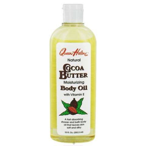 Queen helene cocoa butter body oil 10oz