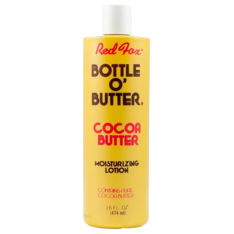 Red fox cocoa butter lotion 16oz
