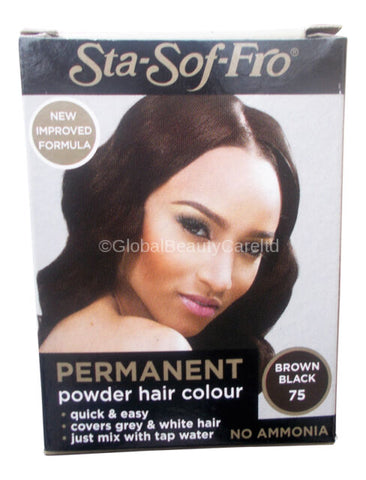 Sta sof fro dye cream hair colour bordo