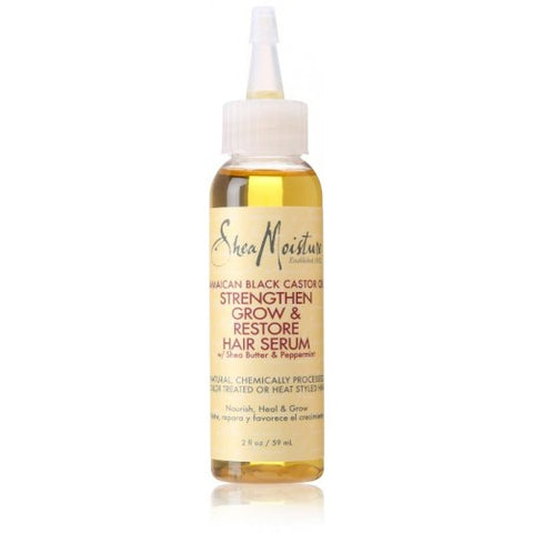 Shea moisture jamaican black castor oil strengthen, grow & restorative hair serum 2oz
